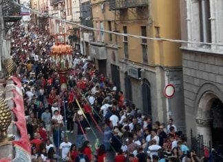 candelieri 2019 processione