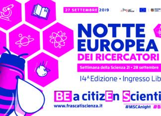 notte europea ricercatori 2019
