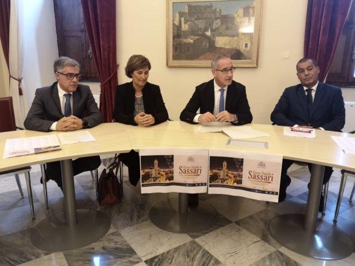 sassari natale capodanno 2019 2020 sindaco nanni campus nicola lucchi rosanna arru fondazione di sardegna epifania tazenda bertas