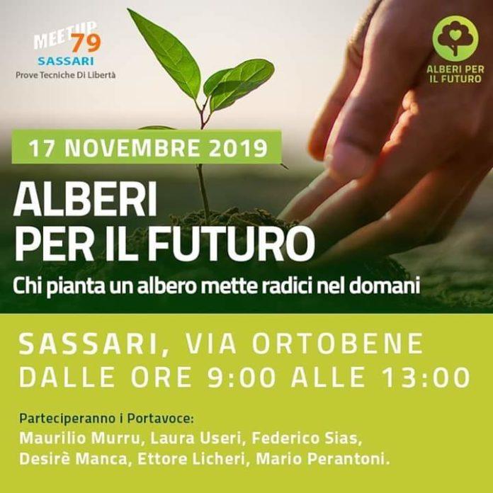 ecologia sassari movimento 5 stelle aberi futuro maurilio murru Meetup79 Gianroberto Casaleggio