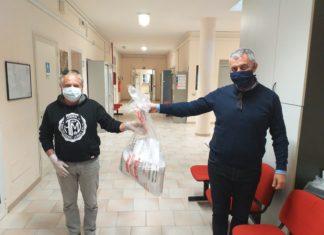 mascherine alghero donazione asan coronavirus
