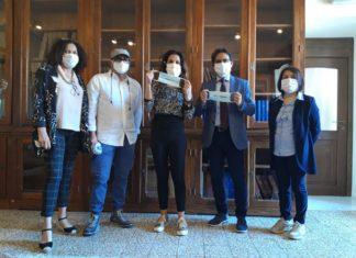 mascherine per non udenti sassari donazione covid
