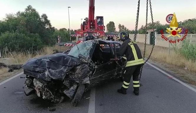 incidente stradale sardegna